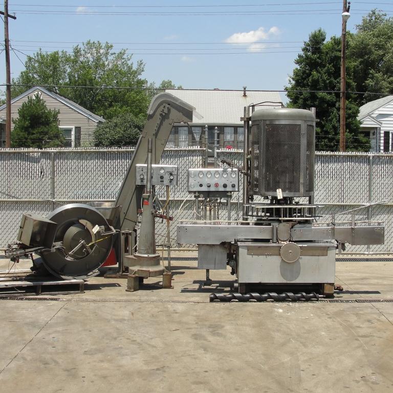 Capping Machine Pneumatic Scale Corp screw capper model Pneuma-Capper, 240 bpm1