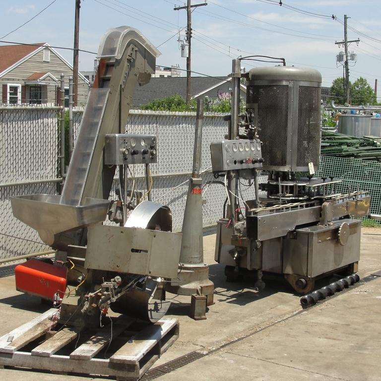 Capping Machine Pneumatic Scale Corp screw capper model Pneuma-Capper, 240 bpm3