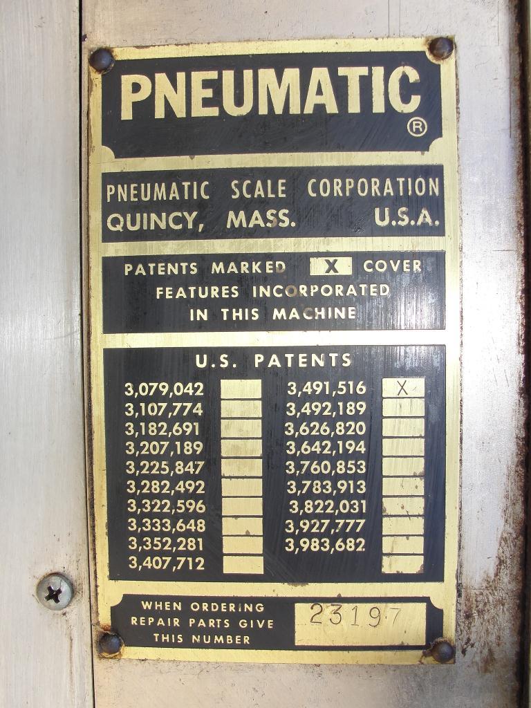Capping Machine Pneumatic Scale Corp screw capper model Pneuma-Capper, 240 bpm7