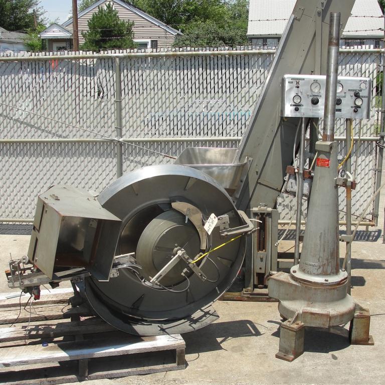 Capping Machine Pneumatic Scale Corp screw capper model Pneuma-Capper, 240 bpm8