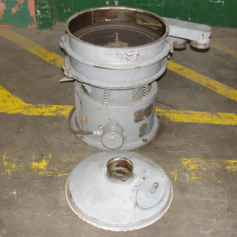 Screener and Sifter 18 Sweco circular shaker screener, 1 decks, CS3