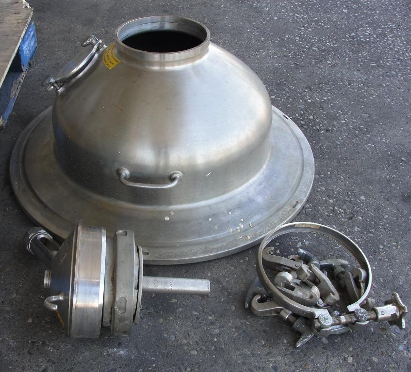 Centrifuge 20 hp Westfalia auto disk centrifuge model SA-20-06-076, 6500 bowl rpm, Stainless Steel6