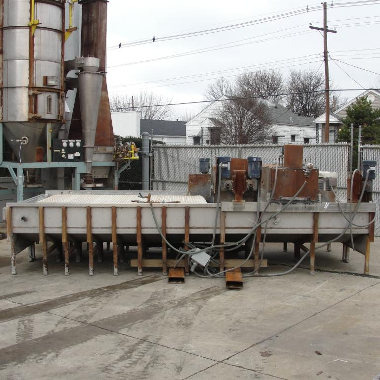 Washer 2 stage, spray washer, 73 wide x 2.25 tall work opening, NA2