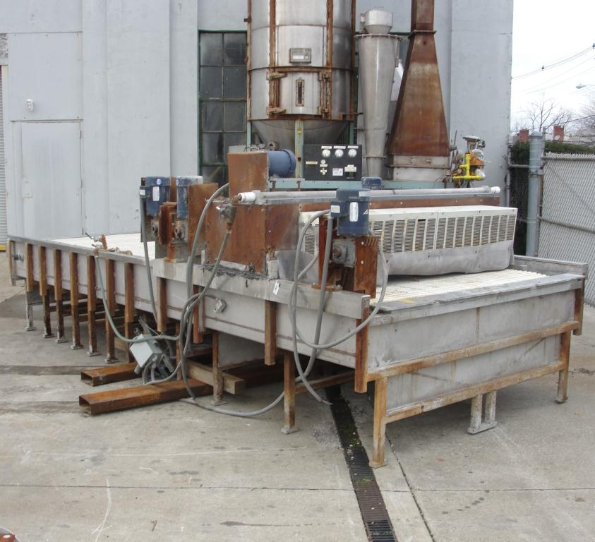 Washer 2 stage, spray washer, 73 wide x 2.25 tall work opening, NA3