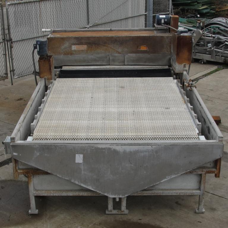 Washer 2 stage, spray washer, 73 wide x 2.25 tall work opening, NA4