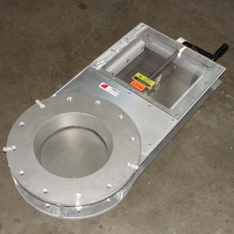 Valve 10 Lorenz gate valve, hand crank, Aluminum1