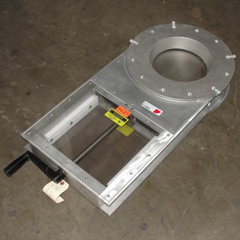 Valve 10 Lorenz gate valve, hand crank, Aluminum2