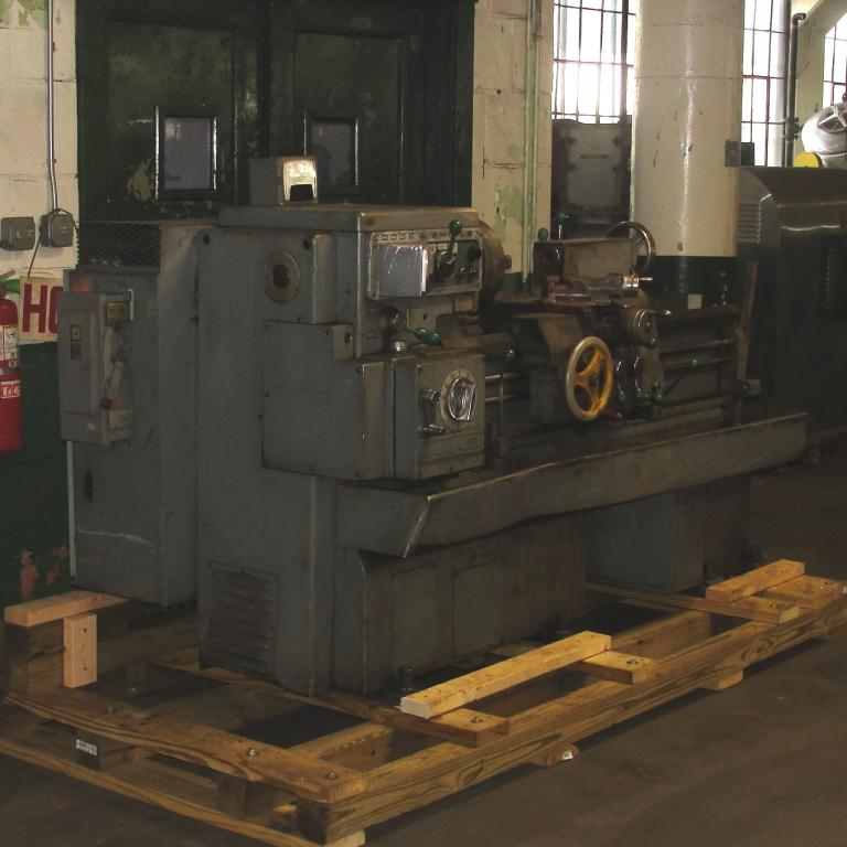 Machine Tool Lodge & Shipley model AVS 1408 metal lathe, 14.5 swing, 30 centers, 3 jaw chuck2