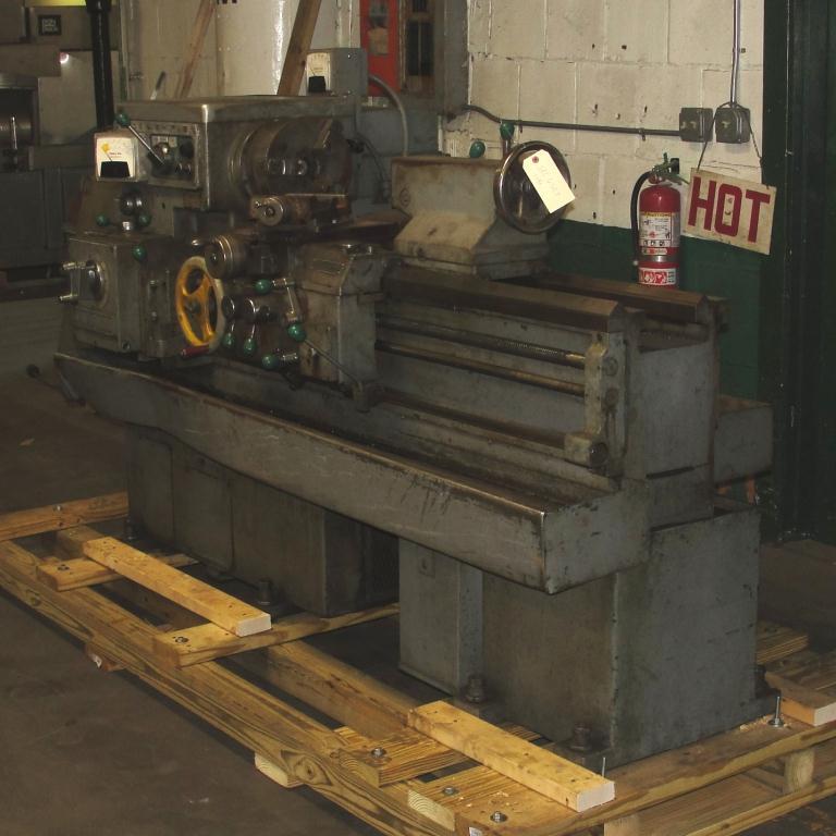 Machine Tool Lodge & Shipley model AVS 1408 metal lathe, 14.5 swing, 30 centers, 3 jaw chuck3