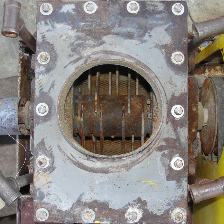 Mill 5 hp hammer mill 6 dia throat size3
