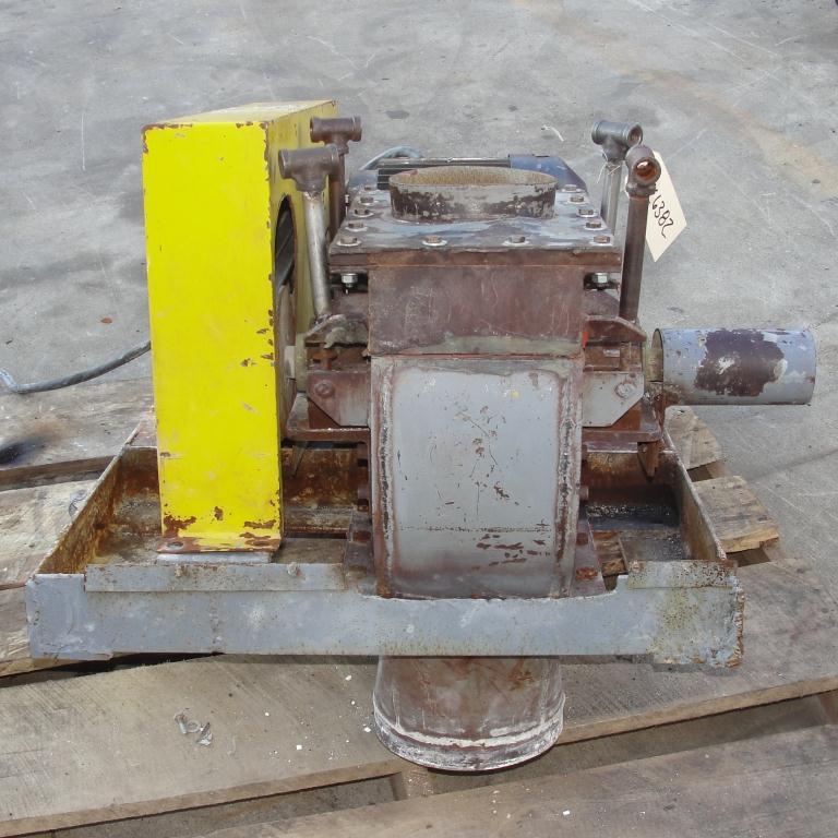 Mill 5 hp hammer mill 6 dia throat size4