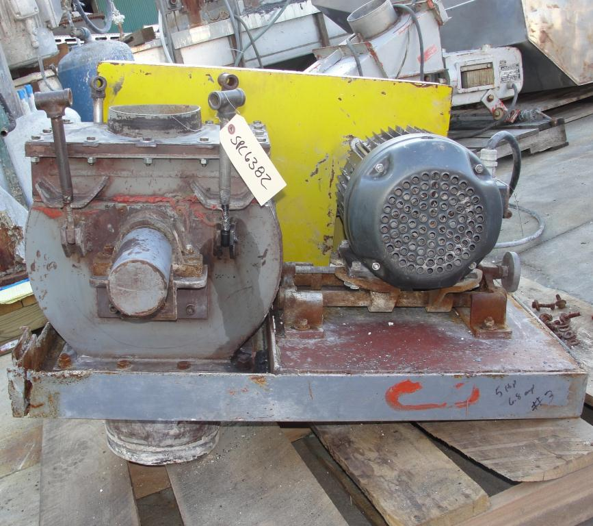Mill 5 hp hammer mill 6 dia throat size5