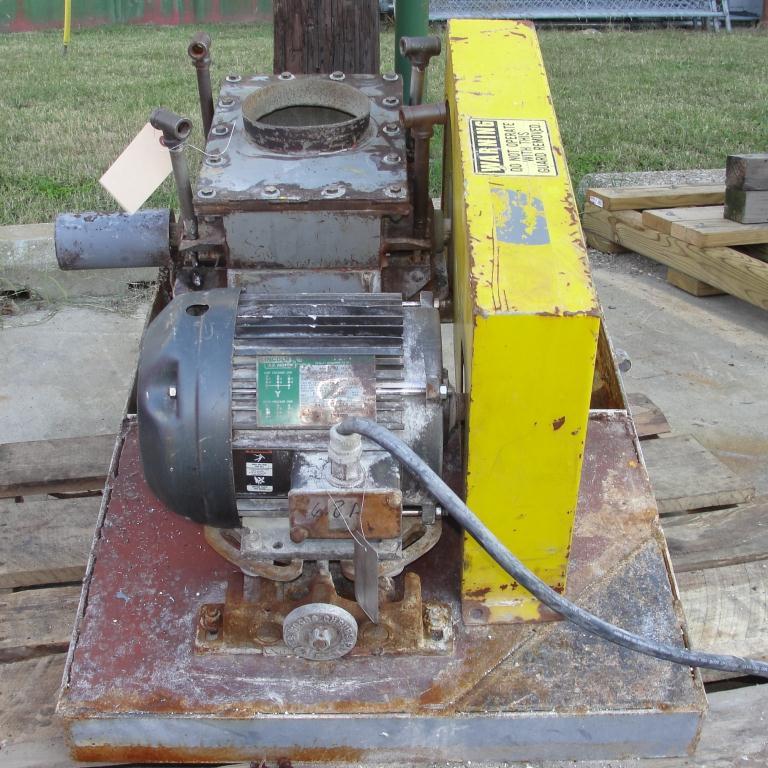 Mill 5 hp hammer mill 6 dia throat size7