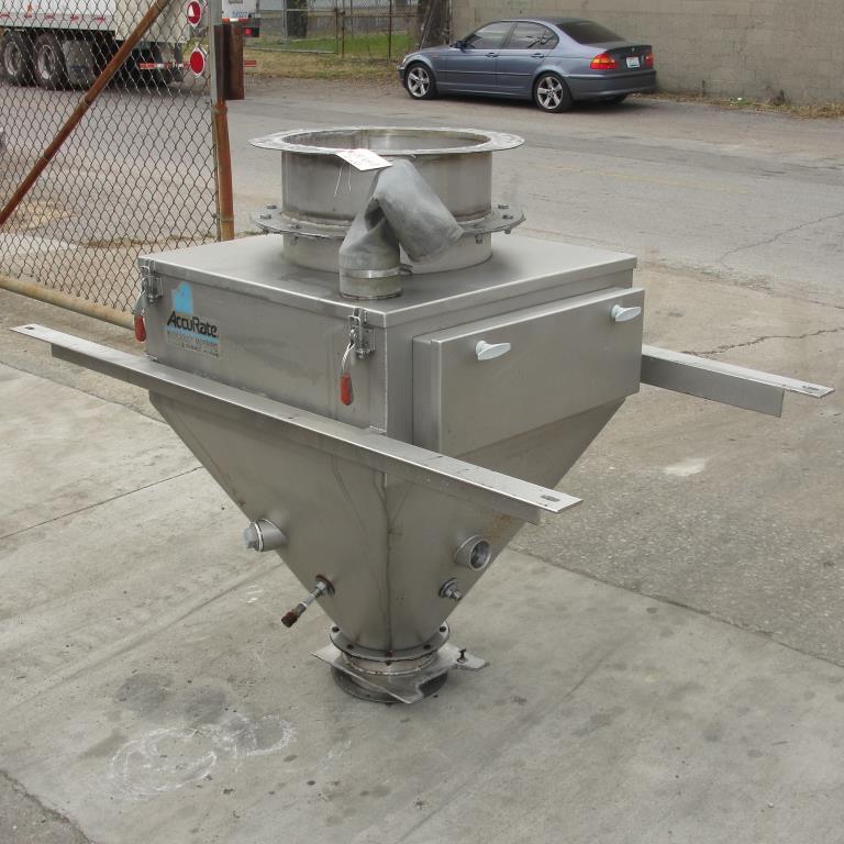 Bin 10 cu.ft., bulk storage bin, Stainless Steel1