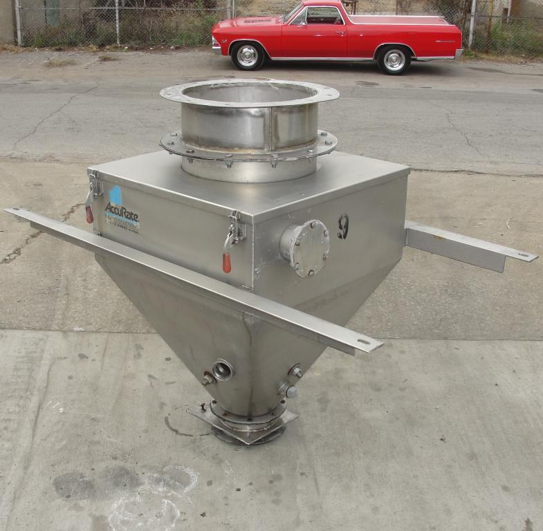 Bin 10 cu.ft., bulk storage bin, Stainless Steel4