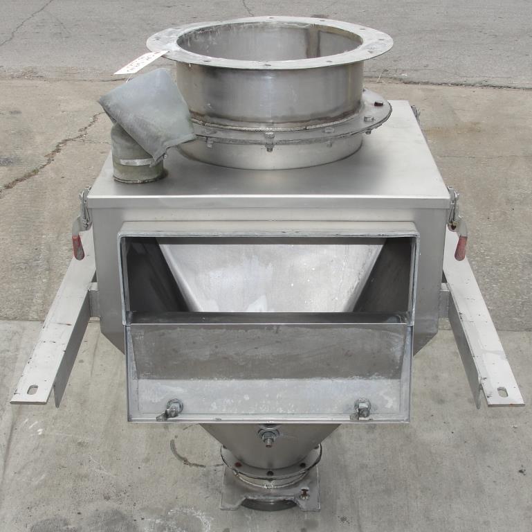 Bin 10 cu.ft., bulk storage bin, Stainless Steel5