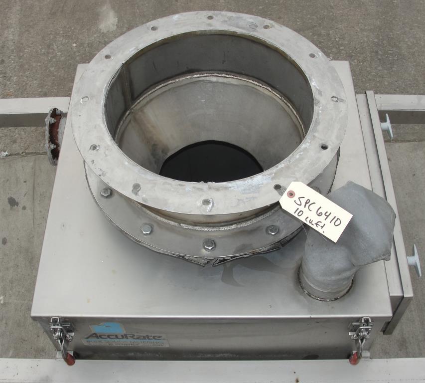 Bin 10 cu.ft., bulk storage bin, Stainless Steel6