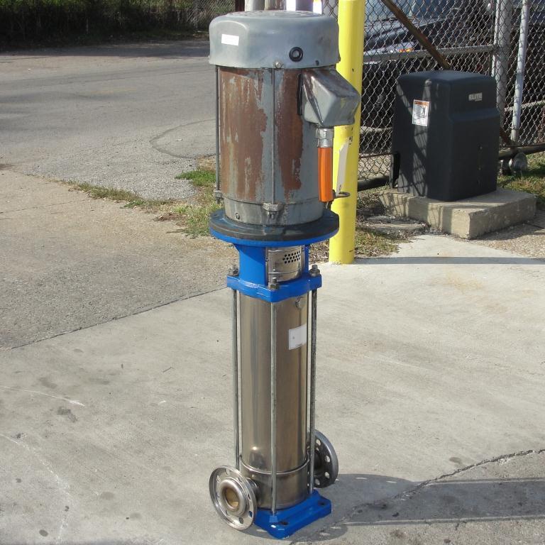 Pump G&L Goulds Pumps centrifugal pump, 10 hp, 304 SS4