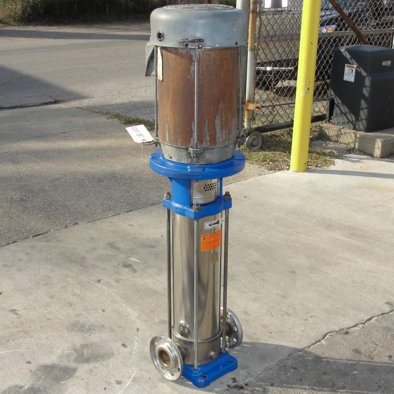 Pump G&L Goulds Pumps centrifugal pump, 10 hp, 304 SS2