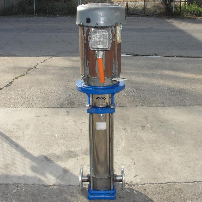Pump G&L Goulds Pumps centrifugal pump, 10 hp, 304 SS3