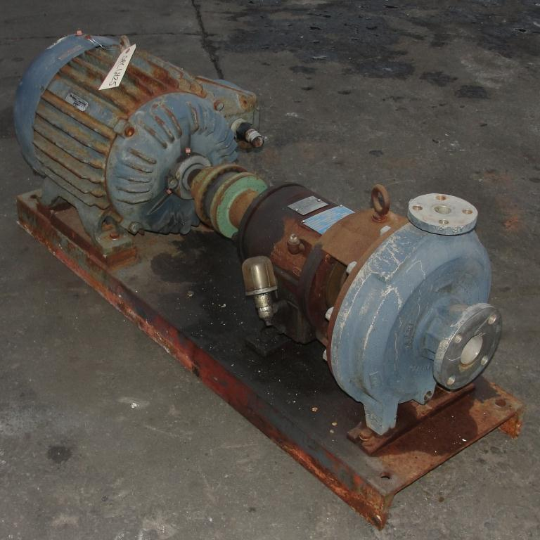Pump 2 x1x10 Ingersoll-Rand centrifugal pump, 30 hp, Stainless Steel1