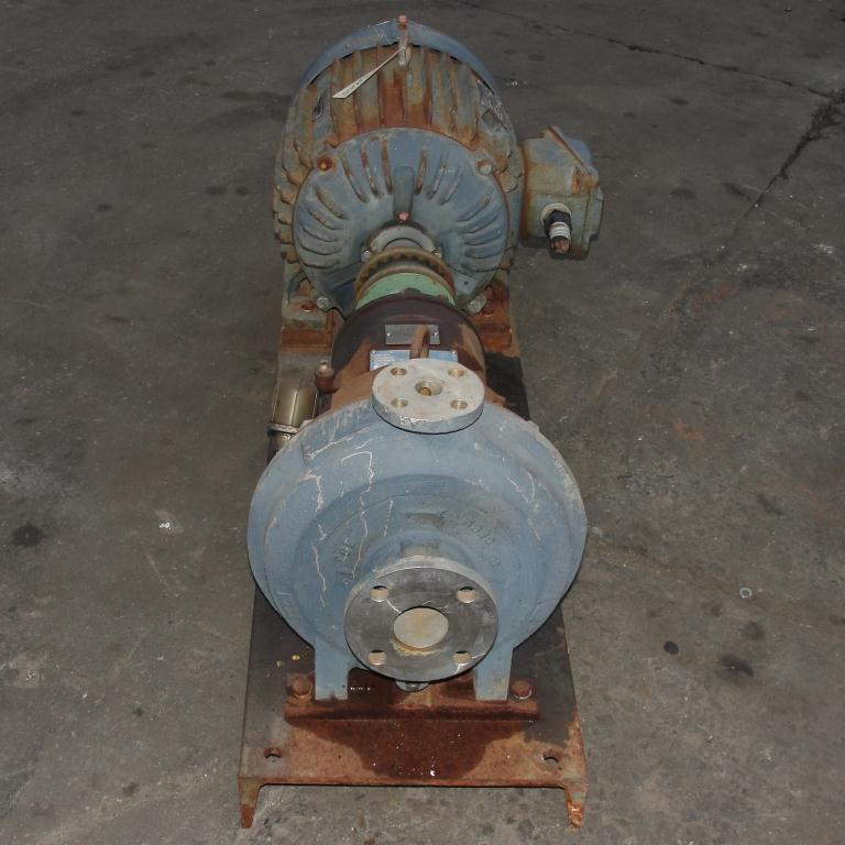 Pump 2 x1x10 Ingersoll-Rand centrifugal pump, 30 hp, Stainless Steel2