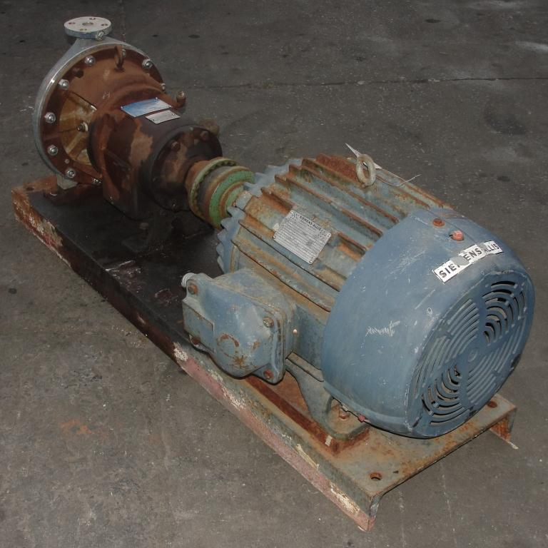 Pump 2 x1x10 Ingersoll-Rand centrifugal pump, 30 hp, Stainless Steel3