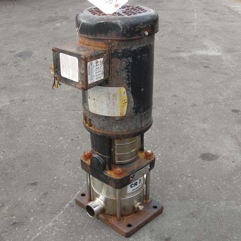 Pump Grundfos centrifugal pump, 1 hp, 316 SS2