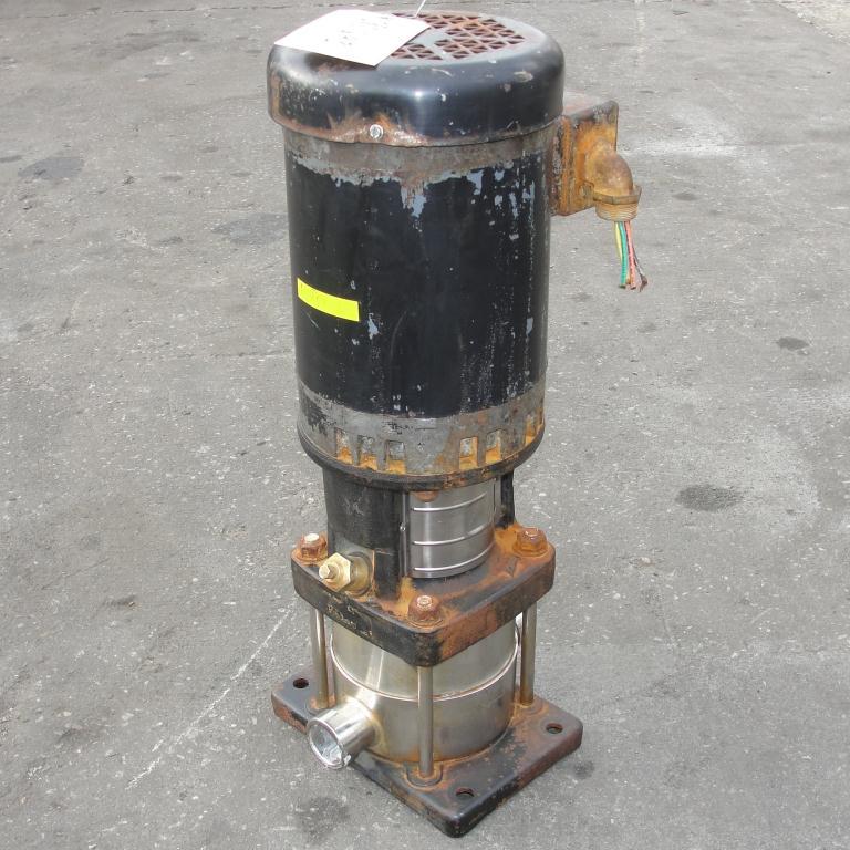 Pump Grundfos centrifugal pump, 1 hp, 316 SS4