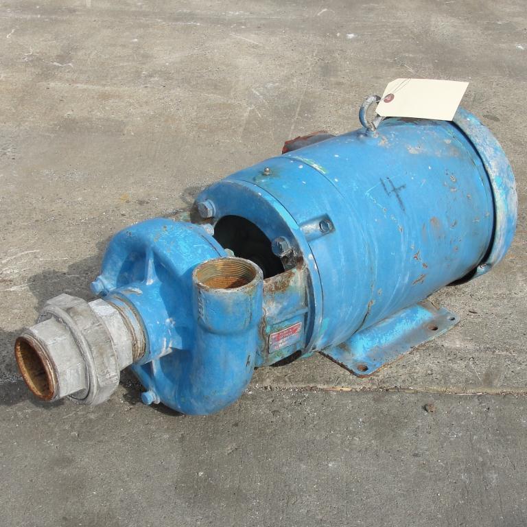 Pump 2.5x2x4.5 MP Pumps centrifugal pump, 7.5 hp, Cast Iron1