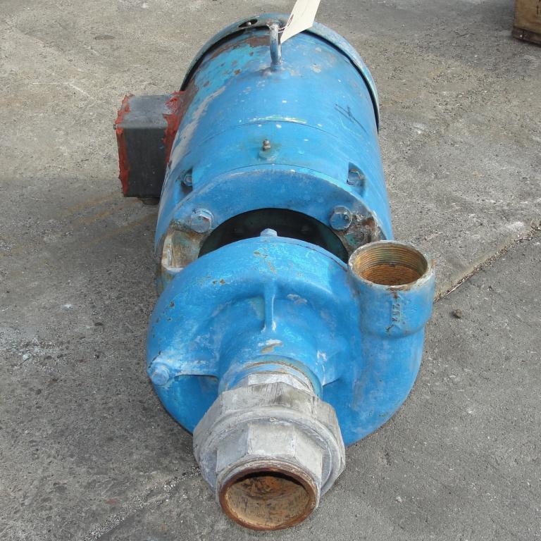 Pump 2.5x2x4.5 MP Pumps centrifugal pump, 7.5 hp, Cast Iron2