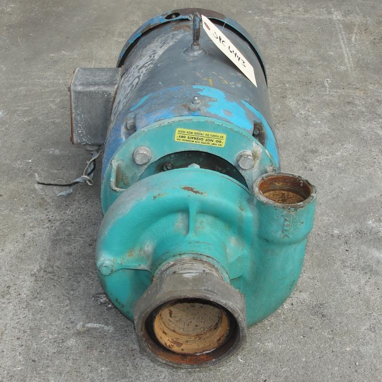 Pump 2.5x2x4.5 MP Pumps centrifugal pump, 7.5 hp, Cast Iron2