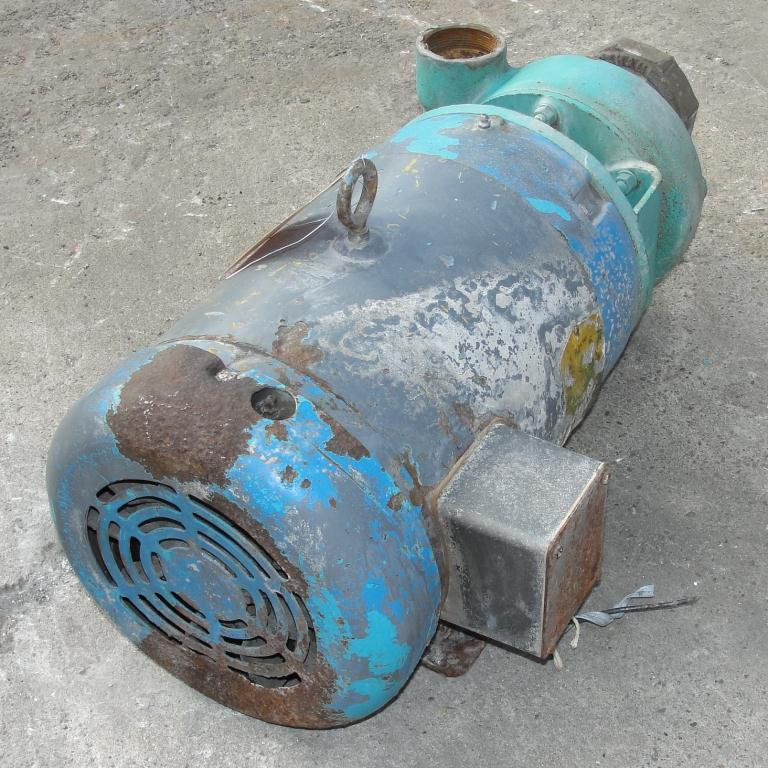 Pump 2.5x2x4.5 MP Pumps centrifugal pump, 7.5 hp, Cast Iron3