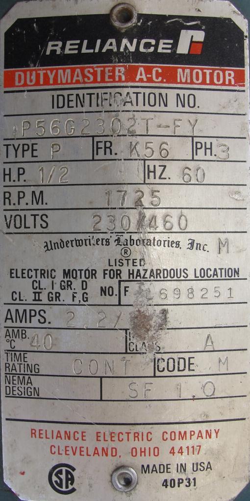 Pump 3/4 inlet Sherwood positive displacement pump .5 hp, Bronze7
