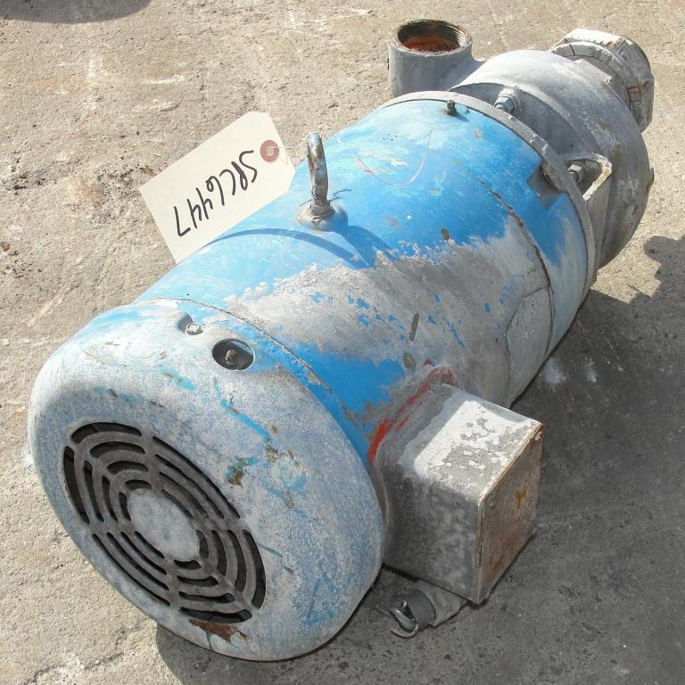 Pump 2.5x2x4.5 MP Pumps centrifugal pump, 7.5 hp, Cast Iron3