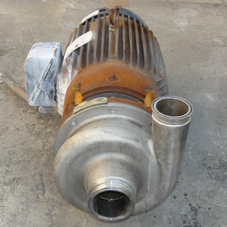 Pump 3x2.5x6.5 AMPCO centrifugal pump, 20 hp, 316 SS2