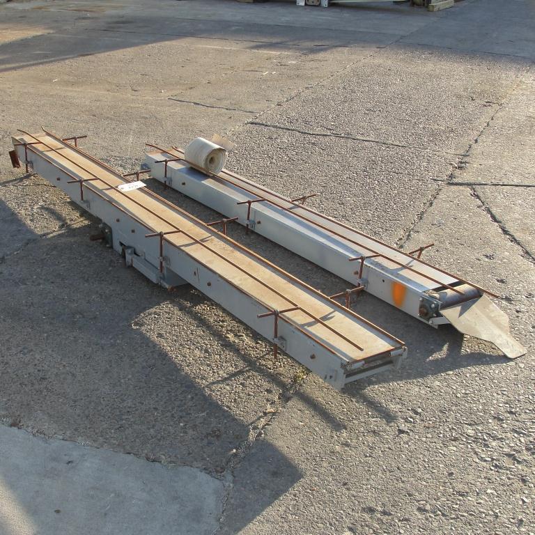 Conveyor belt conveyor CS, 8 wide x 210 long5