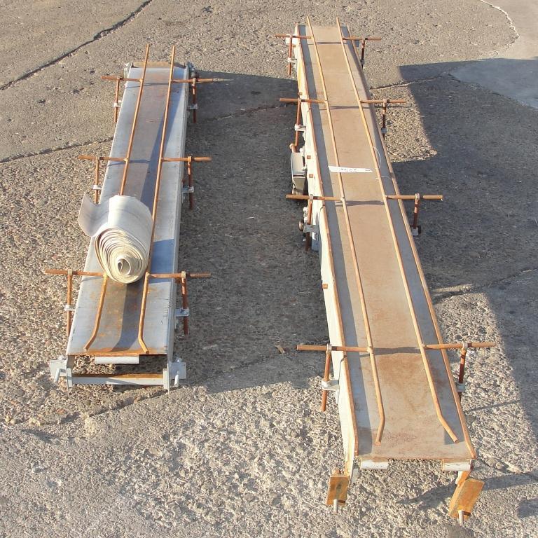 Conveyor belt conveyor CS, 8 wide x 210 long6