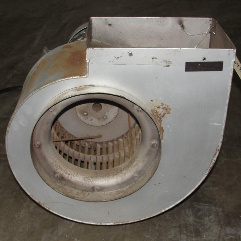 Blower 1915 cfm centrifugal fan New York Blower Co size 90 model Junior Fan, 1.5 hp, Aluminum2