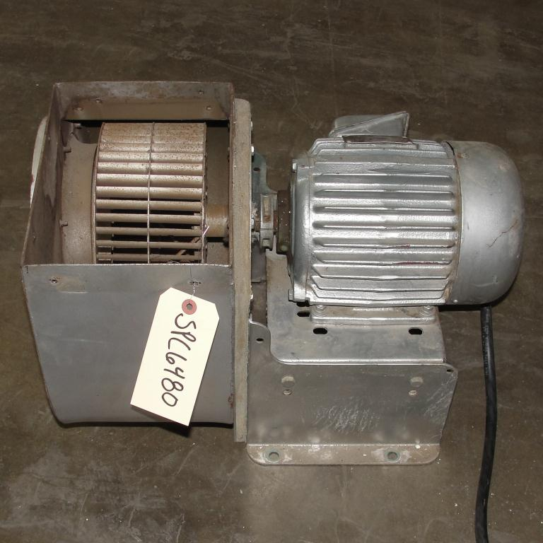 Blower 1915 cfm centrifugal fan New York Blower Co size 90 model Junior Fan, 1.5 hp, Aluminum4