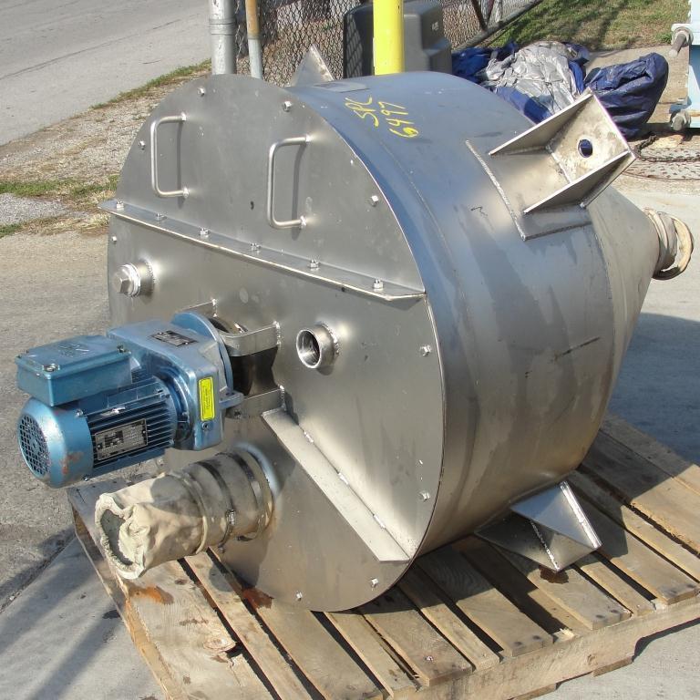 Bin 14 cu.ft., bulk storage bin, Stainless Steel3