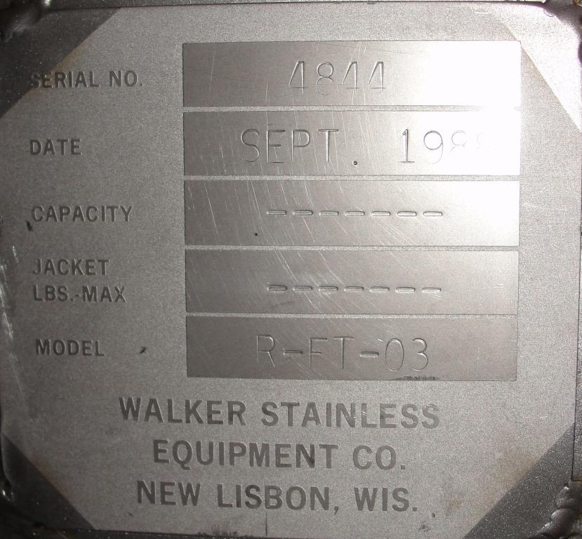 Bin 14 cu.ft., bulk storage bin, Stainless Steel8