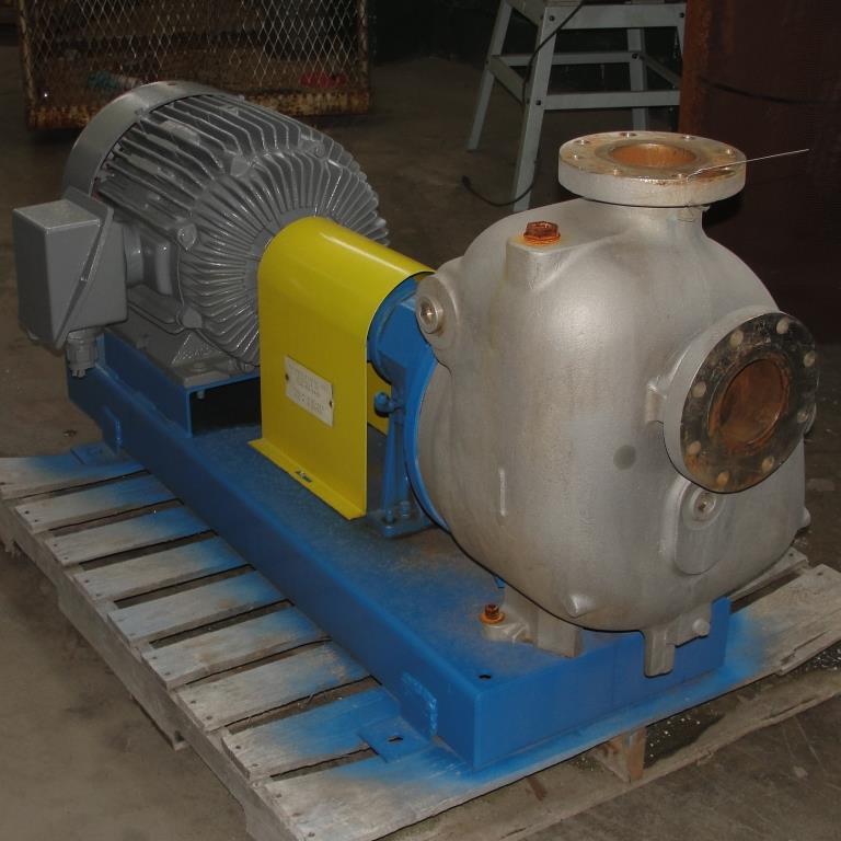 Pump 4x4x10 Dean Met-Pro corp centrifugal pump, 316 SS1