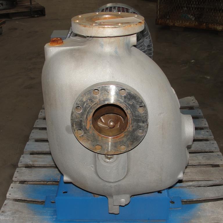 Pump 4x4x10 Dean Met-Pro corp centrifugal pump, 316 SS2