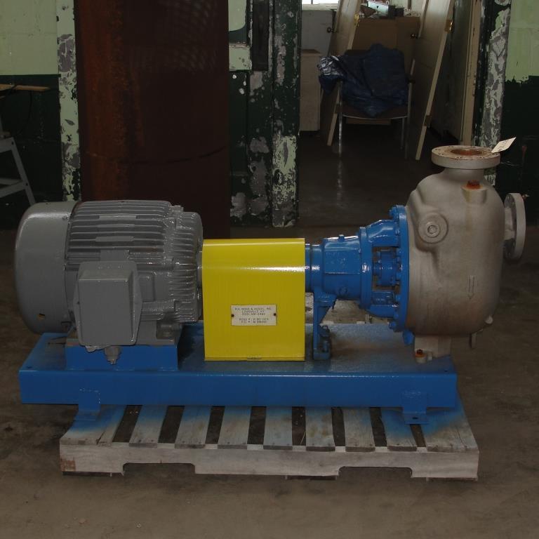 Pump 4x4x10 Dean Met-Pro corp centrifugal pump, 316 SS3