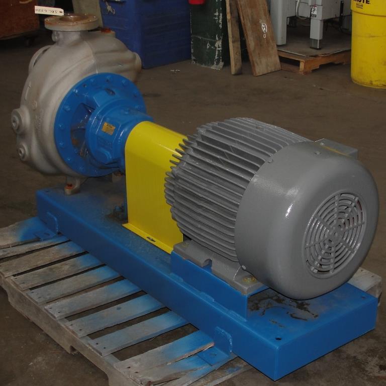 Pump 4x4x10 Dean Met-Pro corp centrifugal pump, 316 SS4
