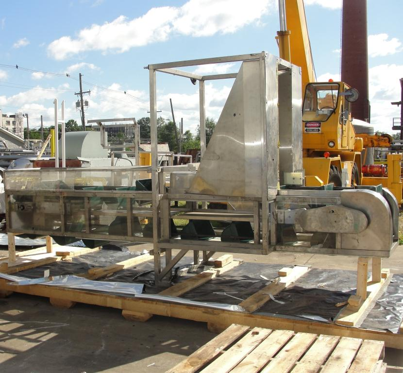 Conveyor New England Machinery bucket elevator Stainless Steel, 18 x 1010