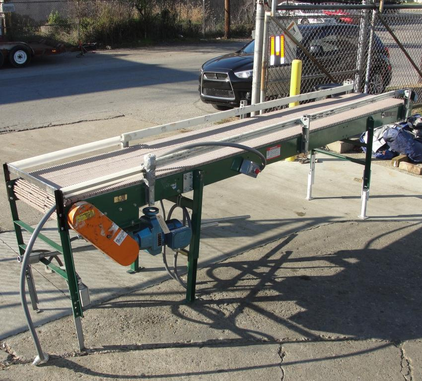 Conveyor SIFCO roller conveyor CS, 22.5 w x 144 l3