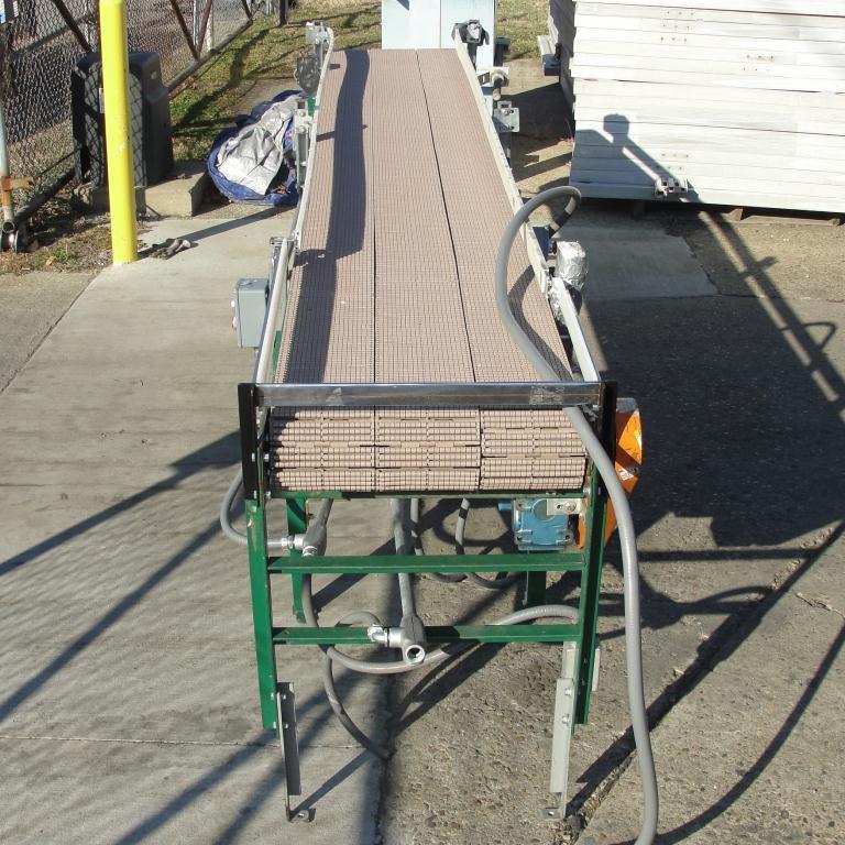 Conveyor SIFCO roller conveyor CS, 22.5 w x 144 l5
