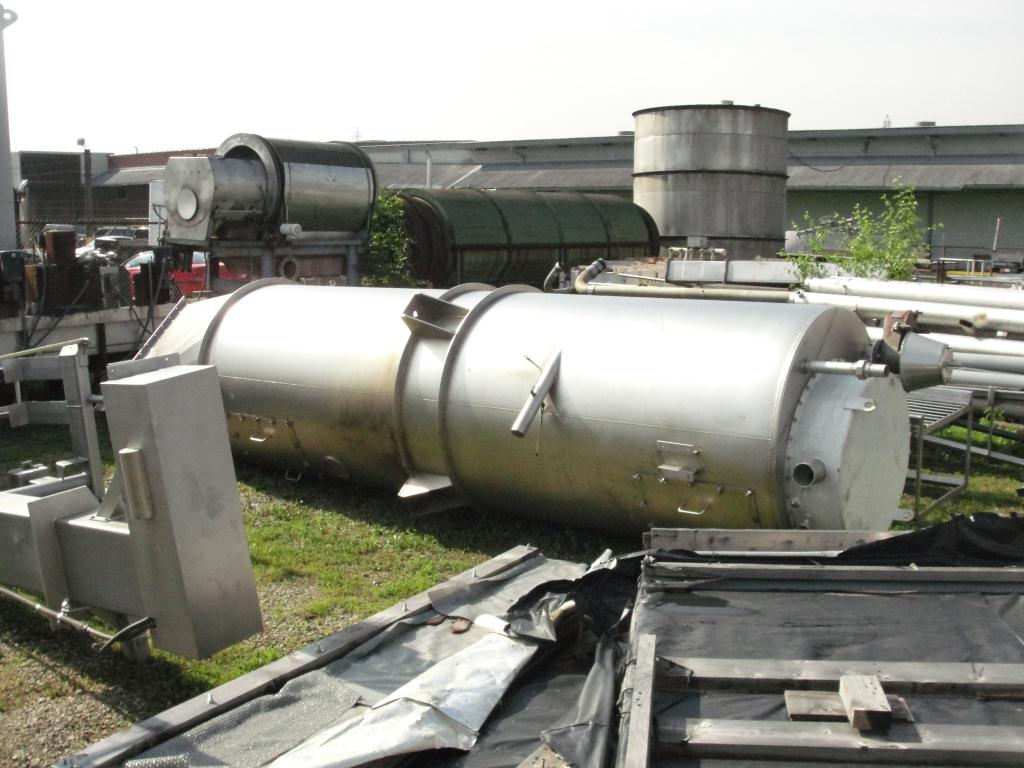 Bin 260 cu.ft., bulk storage bin, Stainless Steel1